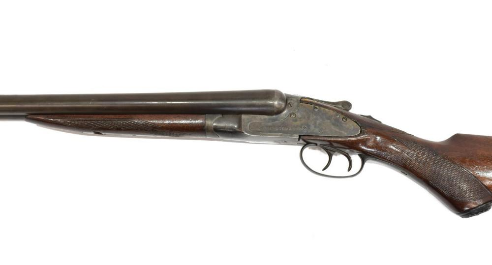 Lot 413: WORTHINGTON ARMS SXS 12 GAUGE SHOTGUN