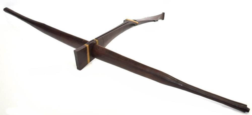 Lot 427: MONTAGNARD ROSEWOOD CROSSBOW