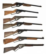Lot 428: (7) DAISY BB RIFLES, ONE RED RYDER CARBINE