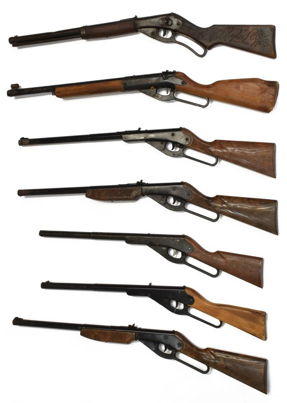 (7) DAISY BB RIFLES, ONE RED RYDER CARBINE