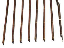 Lot 429: (6) REPLICA CIVIL WAR PERCUSSION MUSKET, CAP GUNS