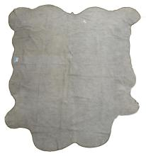 """Lot 430: LARGE TANNED BROWN & WHITE COW HIDE, 98""""L X 86""""W"""