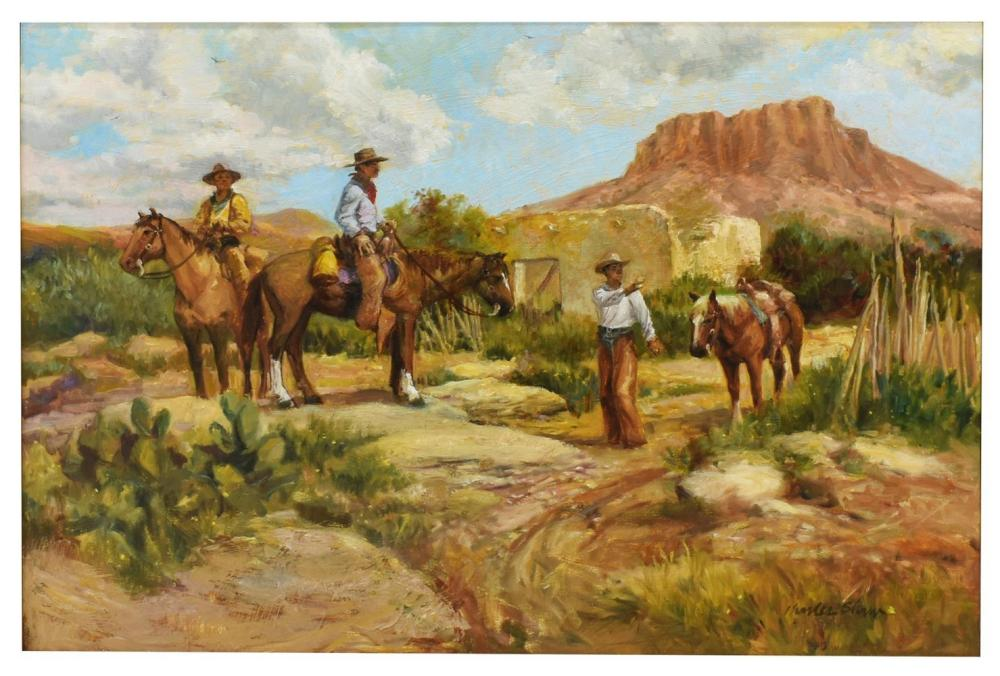 CHARLES SHAW (1941-2005) WESTERN, SEARCHING