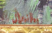 "Lot 449: MARK DAILY (B.1944) ""PROCESSION, SAN PEDRO MESA"""