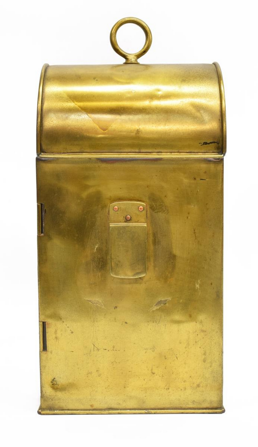 Lot 521: ELI GRIFFITHS & SON BRASS CARRIAGE LAMP LANTERN