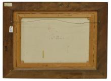 """Lot 559: DAN McCAW (B.1942) WESTERN, """"GOING IT ALONE"""""""