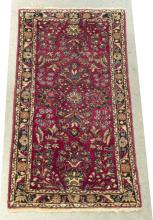 "Lot 567: HAND-TIED PERSIAN DAREGAZIN RUG, 4'9"" X 2'6"""