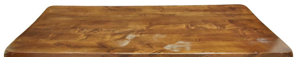 Lot 575: SPANISH BAROQUE STYLE WALNUT REFFECTORY TABLE