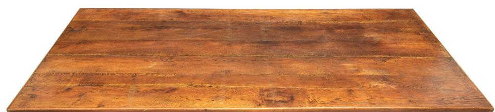 """Lot 580: SPANISH BAROQUE STYLE REFECTORY TABLE, 78""""L"""