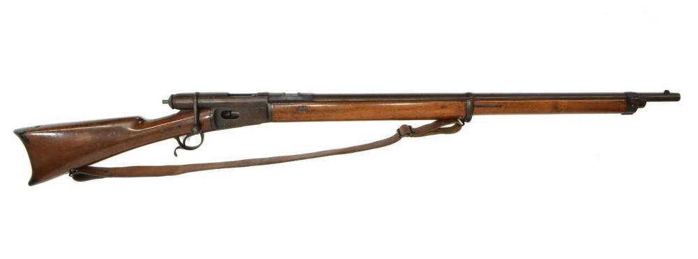 Lot 415A: ANTIQUE SWISS VETTERLI MODEL 1878 RIFLE