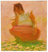 JOHN R. ASARO (CAL., B.1937) PORTRAIT OF A WOMAN