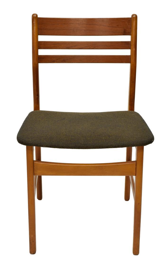 4 Danish Mid Century Modern Dining Chairs