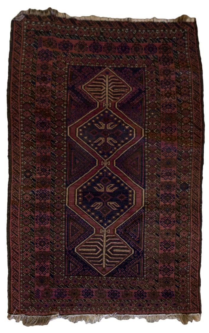 Hand Tied Oriental Wool Rug 4 39 2 X 7 39 3