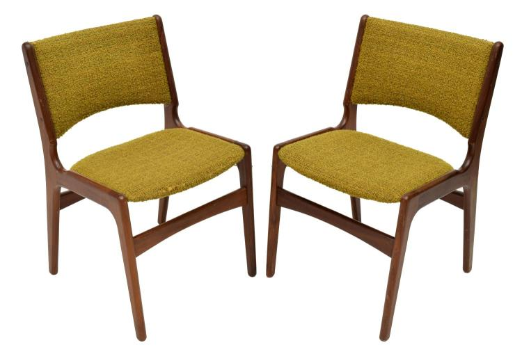 6 Danish Mid Century Modern Dining Chairs