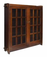 L &JG STICKLEY HANDCRAFT OAK BOOKCASE, 1907-1912