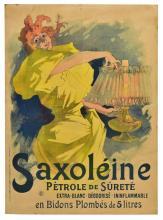 UNFRAMED JULES CHERET SAXOLEINE POSTER, 1895