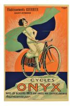 UNFRAMED CYCLES ONYX COLOR POSTER, C. 1925
