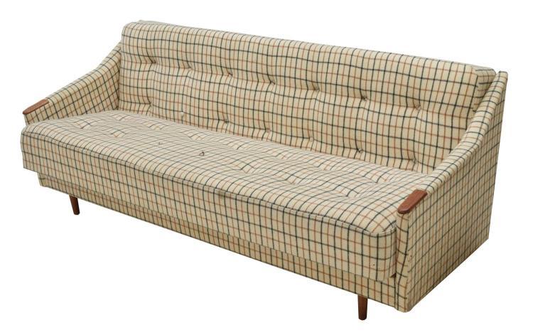 DANISH MID-CENTURY MODERN SLEEPER SOFA BED