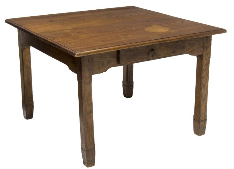 ITALIAN CARVED OAK SQUARE TOP DINING TABLE : H1259 L109988749 from www.invaluable.co.uk size 750 x 542 jpeg 26kB