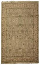 INDIAN / IRANIAN HAND KNOTTED AGRA WOOL RUG