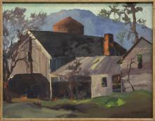 GEORGE S. BICKERSTAFF (CA, 1893-1954) OIL PAINTING