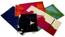 (5) KNOLL TEXTILE SAMPLES, WOLF BAUER (B.1939)