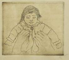 ARTURO RIVERA (MEXICO, B 1945) CHILD, ETCHING