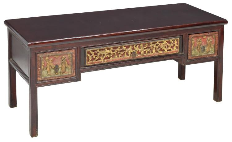 Pleasing Chinese Carved Wood Low Coffee Table Andrewgaddart Wooden Chair Designs For Living Room Andrewgaddartcom