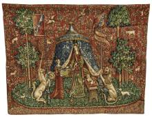 LADY AND THE UNICORN TAPESTRY,