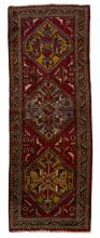 HAND-TIED PERSIAN TABRIZ WOOL RUG, 10'2