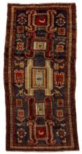 HAND-TIED PERSIAN TRIBAL WOOL RUG, 9'8