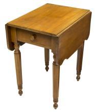 AMERICAN CHERRY DROP-LEAF TABLE