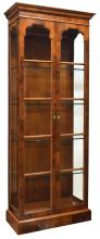 FINE HENREDON LIGHTED GLASS DISPLAY/ CHINA CABINET