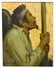 "LESLIE W. LEE (1871-1951), ""THE DEVOTEE,"" LAJOLLA"