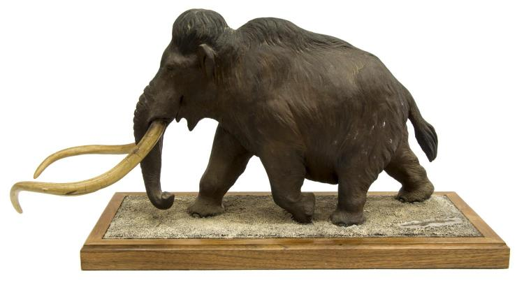 LOUIS PAUL JONAS STUDIOS WOOLY MAMMOTH SCULPTURE