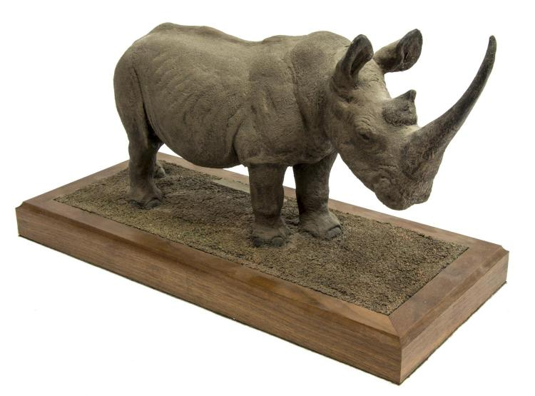 LOUIS PAUL JONAS STUDIOS WHITE RHINOCEROS