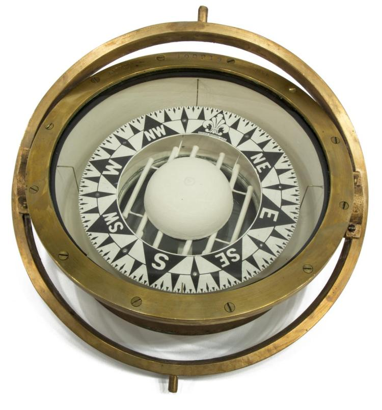 E.S. RITCHIE & SONS SHIPS COMPASS