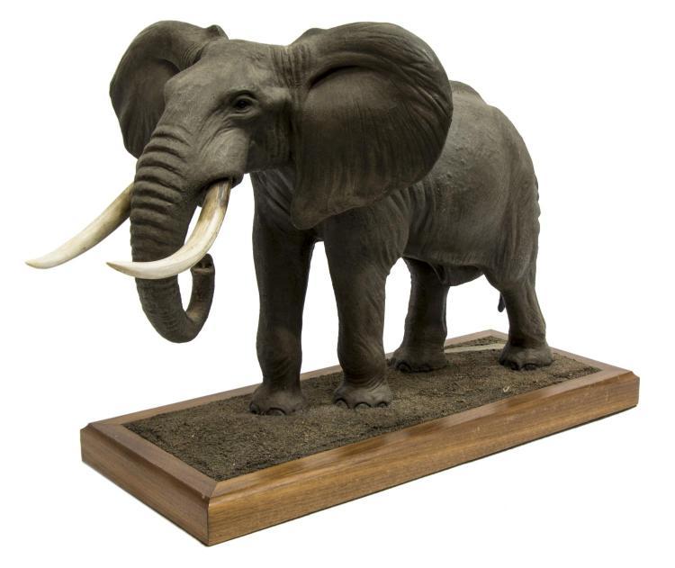 LOUIS PAUL JONAS STUDIOS AFRICAN ELEPHANT FIGURE