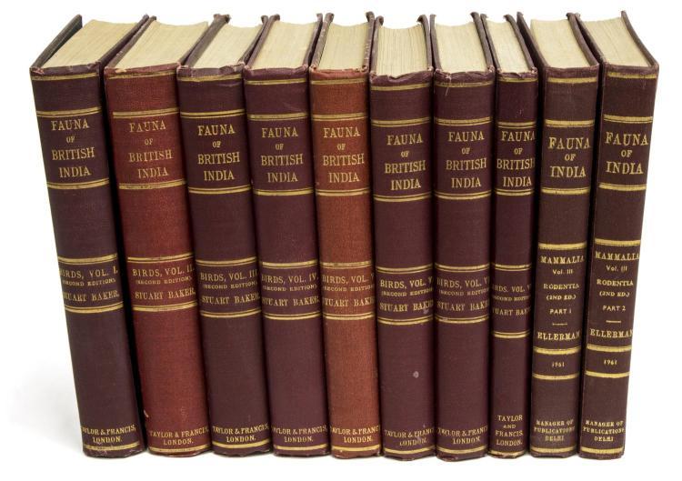 (8 VOL) BOOKS: