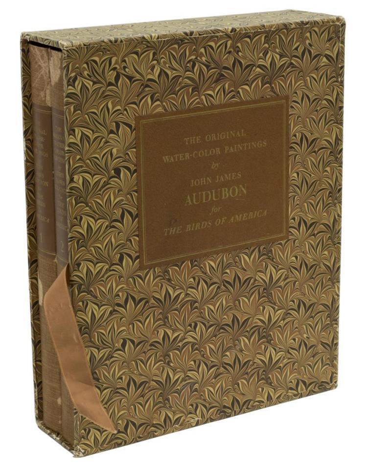 (2)VOLUME AUDUBON FOR BIRDS OF AMERICA, 431 PLATES