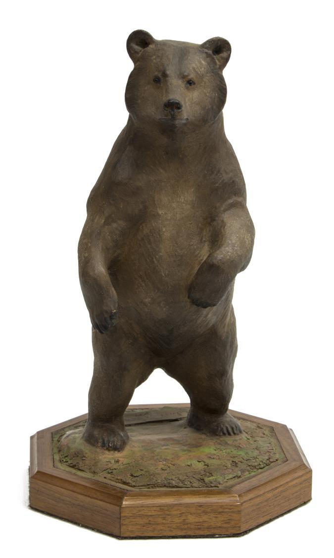 LOUIS PAUL JONAS STUDIOS STANDING GRIZZLY BEAR
