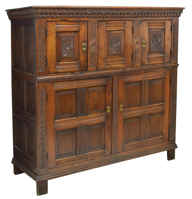 FRENCH RENAISSANCE REVIVAL CARVED CUPBOARD