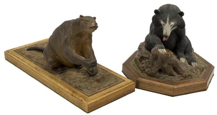 (2) LOUIS PAUL JONAS STUDIOS MYLODON & SLOTH BEAR