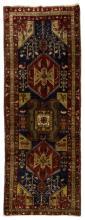 HAND-TIED PERSIAN SERAPI WOOL RUG, 10' x 3'6