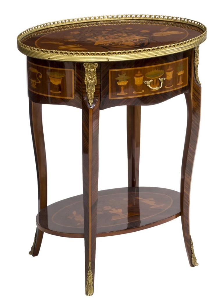 louis xv style side table. Black Bedroom Furniture Sets. Home Design Ideas