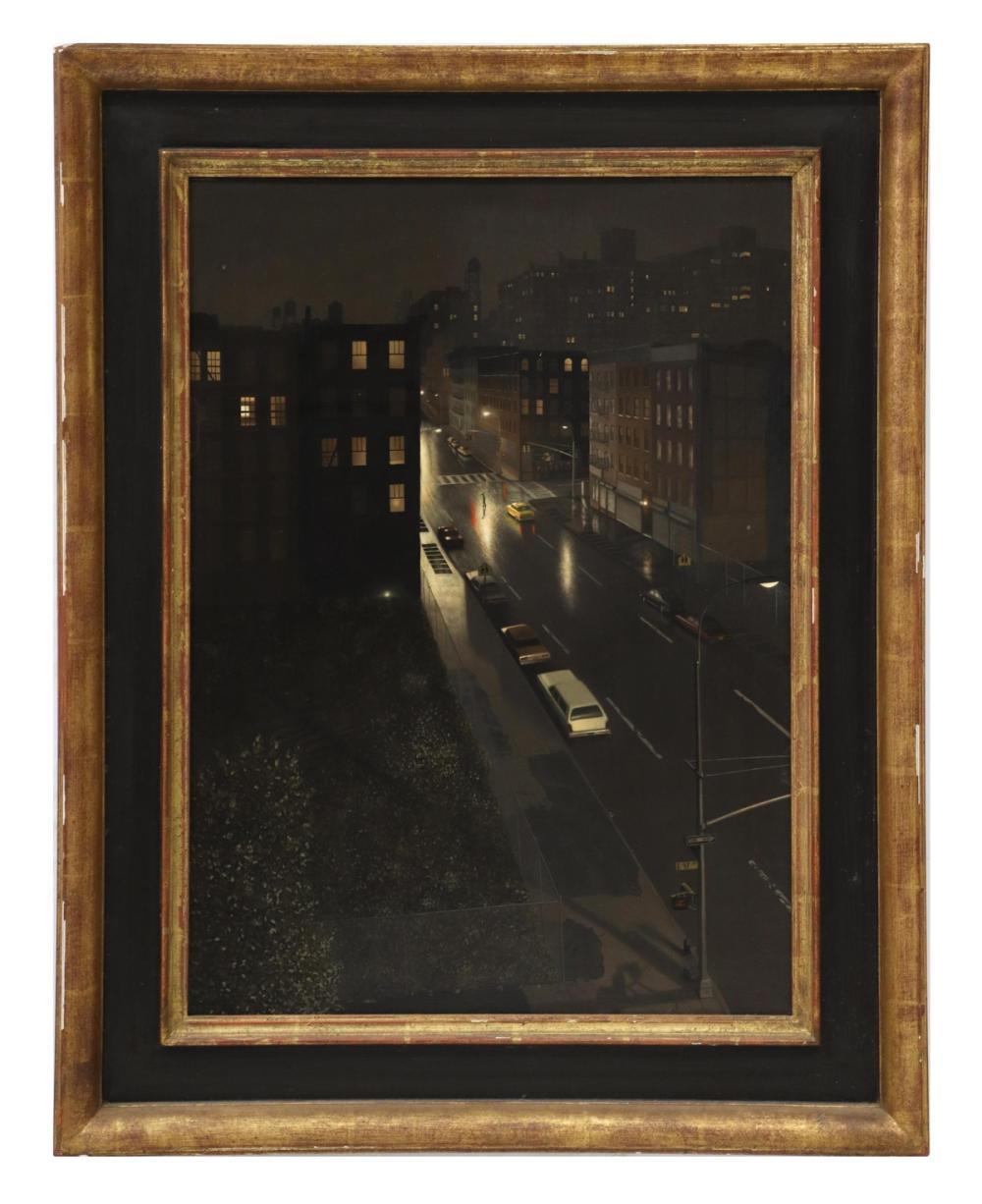 MAX FERGUSON (NY, B.1959) 'HARLEM NOCTURNE'