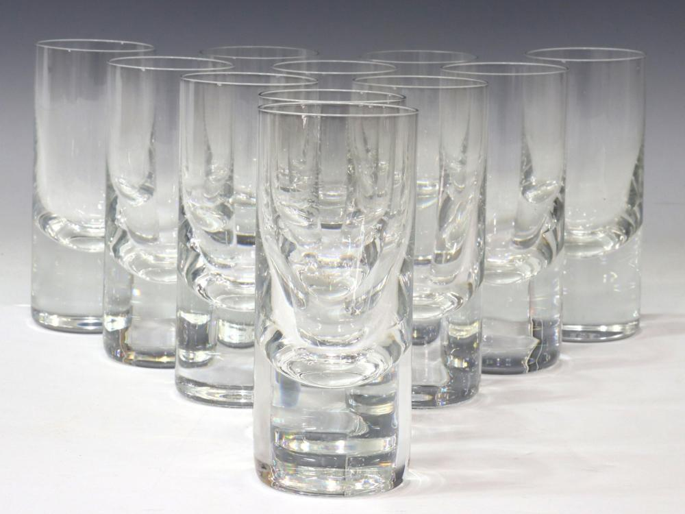 (11) BACCARAT 'PERFECTION' CRYSTAL TUMBLERS