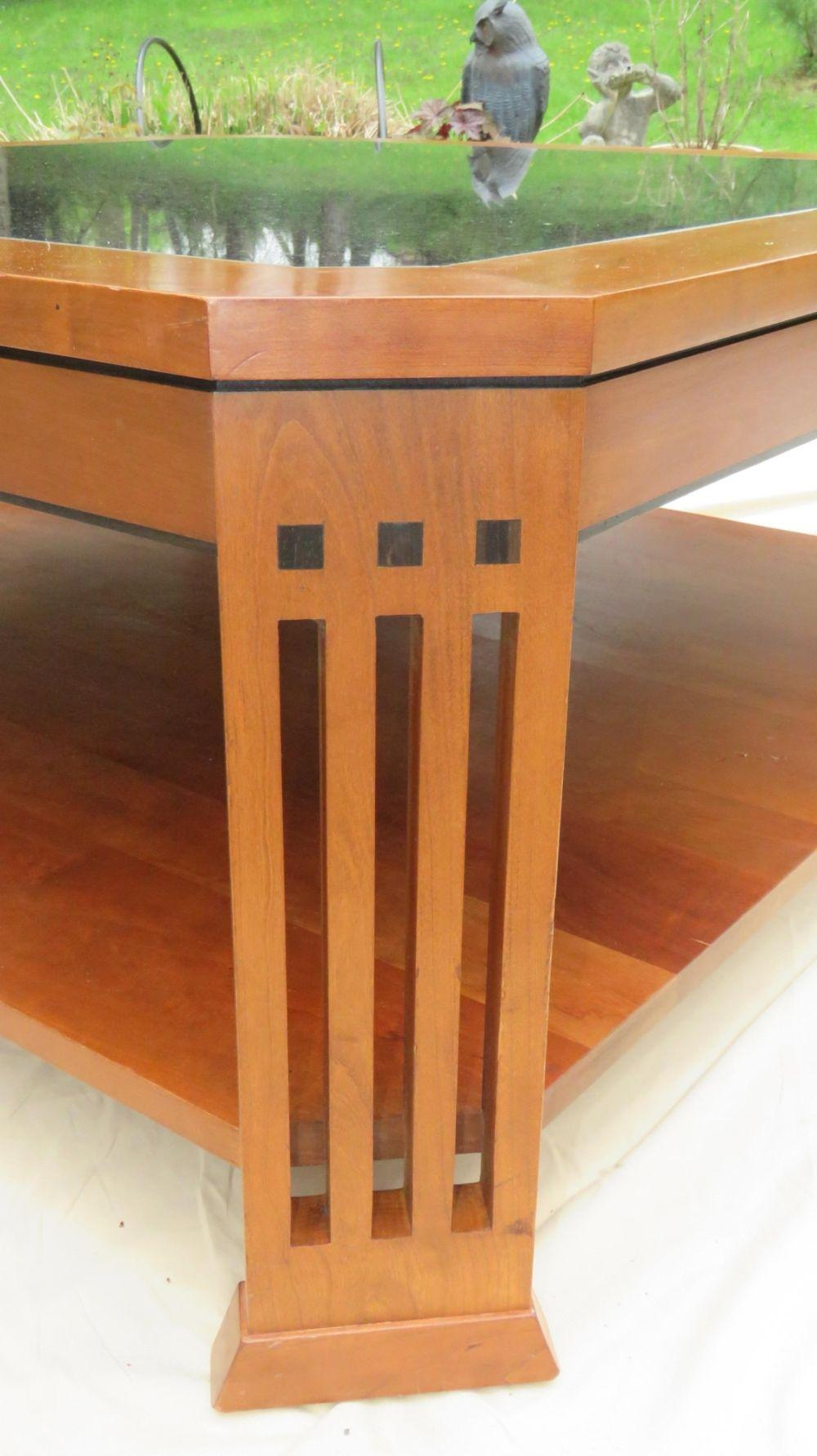 Stickley Metropolitan Cherry Coffee Table