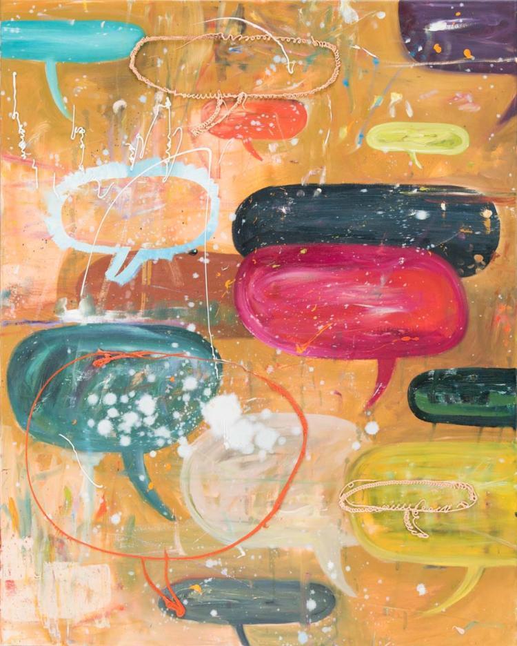 Ronald Kodritsch *(1970 Leoben)   Blababels, 2012