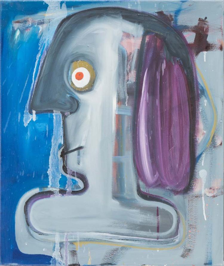 Ronald Kodritsch *(1970 Leoben)   Nasenkopfbüste, 2013